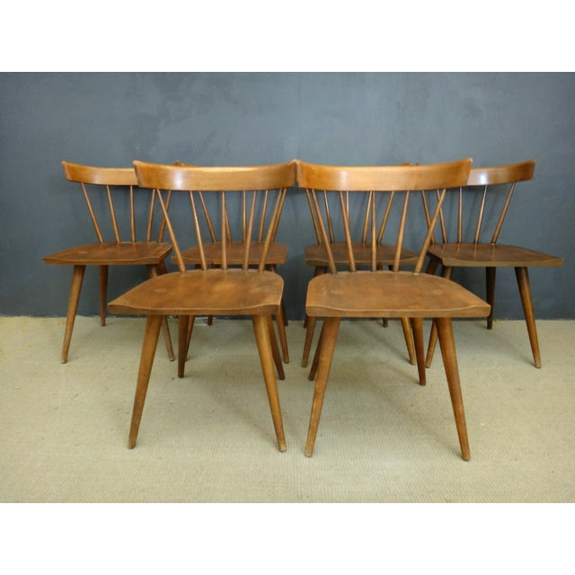 Paul McCobb Mid-Century Dining Chairs - Set of 6 - Image 3 of 6