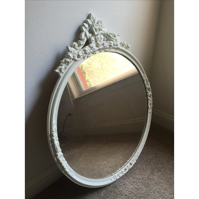 Shabby Chic Circle Mirror - Image 3 of 7