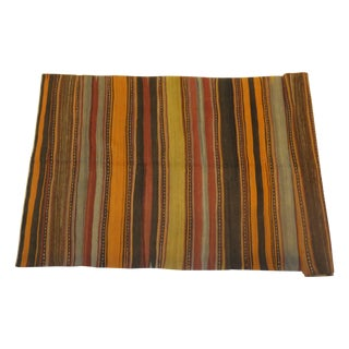 "Turkish Kilim Rug - 8'10"" x 3'11'"