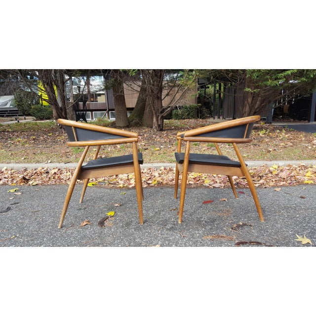 James Mont Vintage Mid-Century Lounge Chairs - A Pair - Image 7 of 7