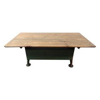 Pennsylvania Hutch Style Rustic Farm Dining Table