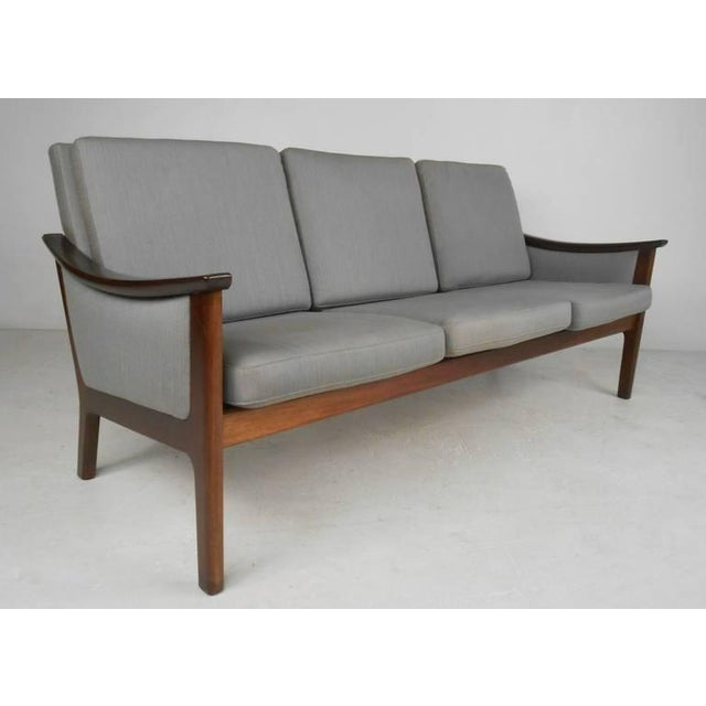 Mid-century Ole Wanscher Style Living Room Suite - Image 3 of 10