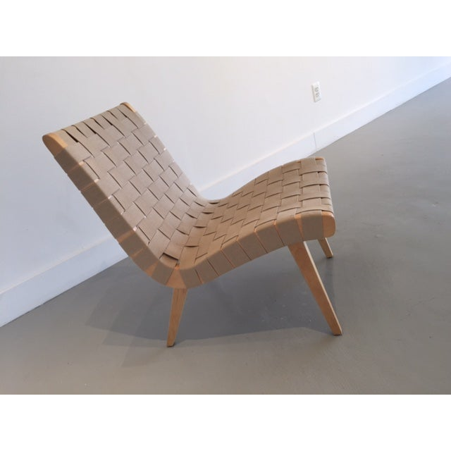 Original And Signed Jens Risom Lounge Chair - Image 2 of 9