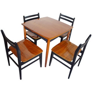 Danish Modern Game Table Set