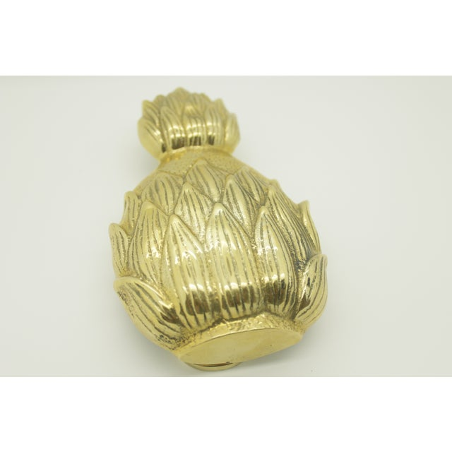 Image of Brass Pineapple Door Knocker