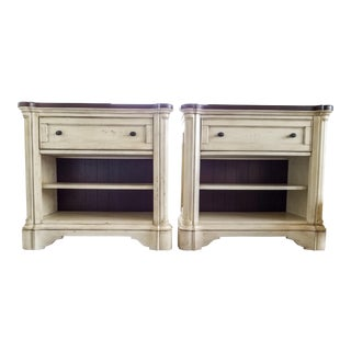 North Park Nightstands in Two-Toned Finish - A Pair