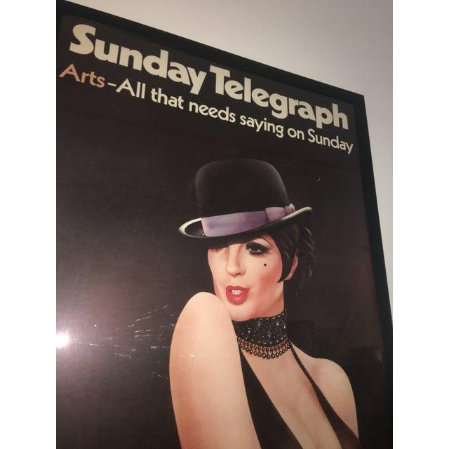 1972 London Telegraph Lisa Minnelli Cabaret Poster - Image 7 of 11