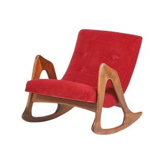 Sculptural 1960s Rocker Chair by Adrian Pearsall
