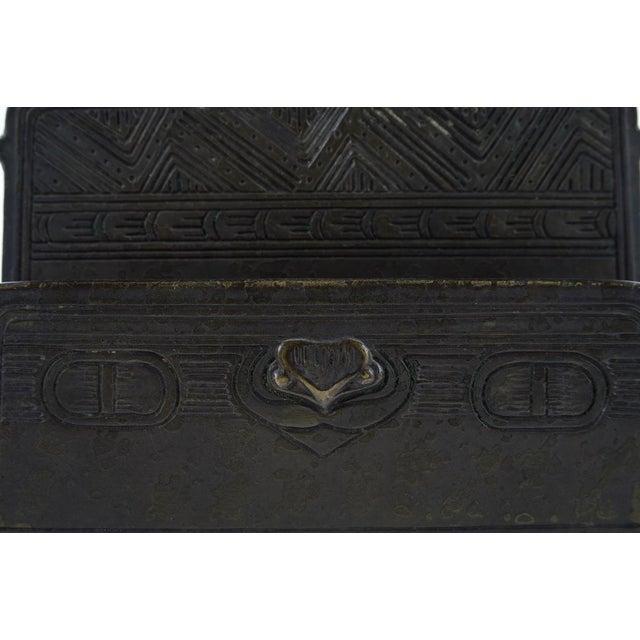 Tiffany Studio New York- Bronze Desk Letter Holder - Image 8 of 9