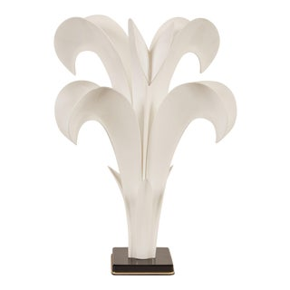 20th Century Maison Rougier Floriform Table Lamp