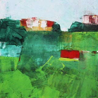Paul Ashby Original Abstract Oil Painting