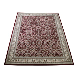 "Traditional Herati Red Rug - 5'3"" x 7'4"""