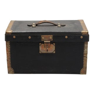 Antique Black French Box
