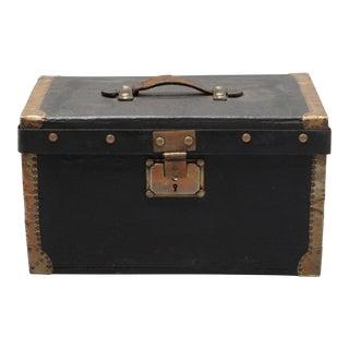 Antique Black French Box