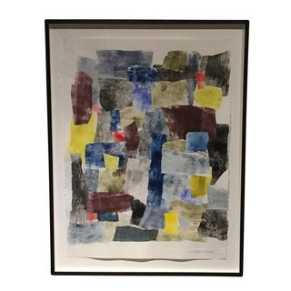 Abstract Large Mixed Media Print by Sandra Constantine, United States
