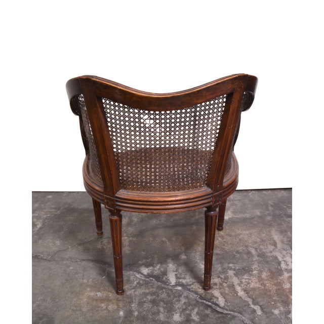 Vintage French Louis XV Caned Chair - Image 4 of 6