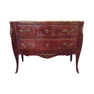 Louis XV Style Parquetry Commode