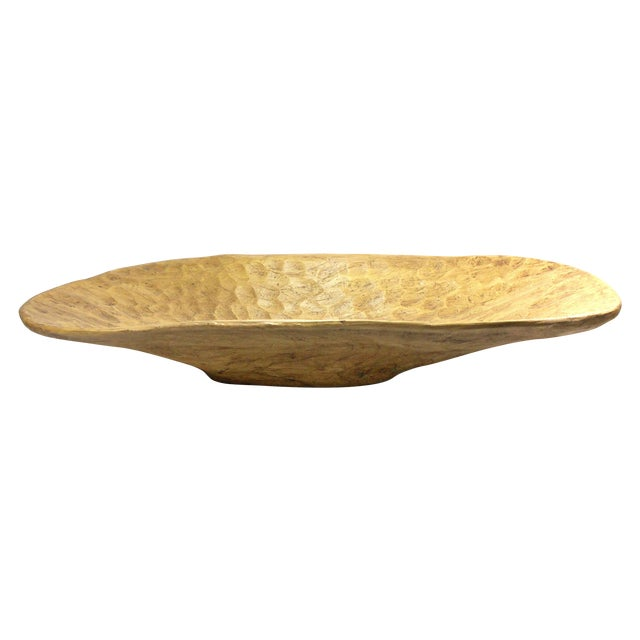 Rustic Vintage Dough Bowl - Image 1 of 11