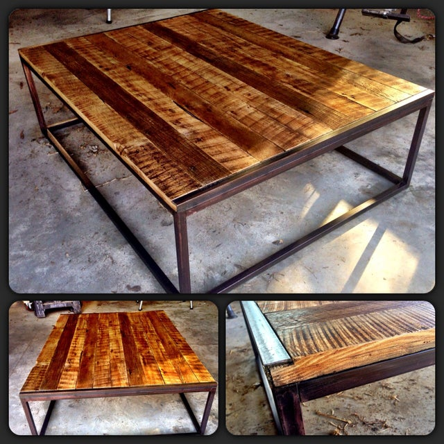Reclaimed Wood Coffee Table Ireland: Reclaimed T&G Barnwood Coffee Table