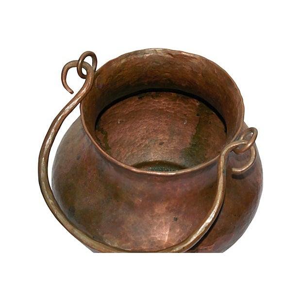 Hand Hammered Copper Vessel - Image 4 of 4