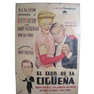 Vintage El Club Movie Poster