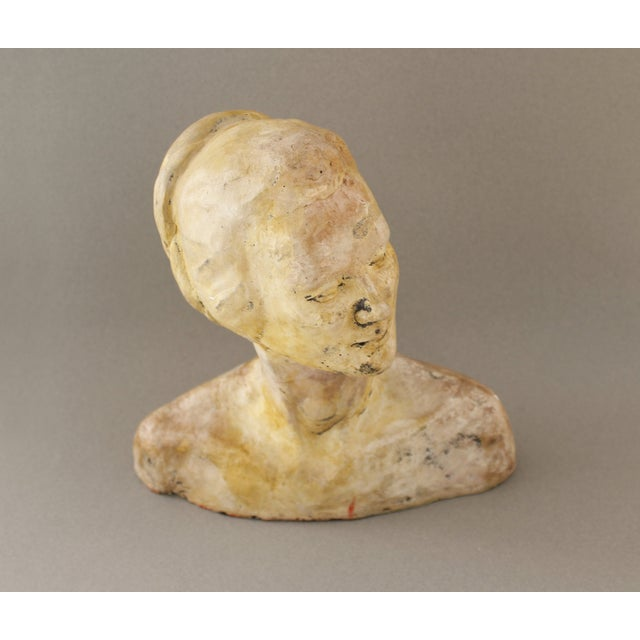 Vintage Handmade Bust of a Woman - Image 4 of 6