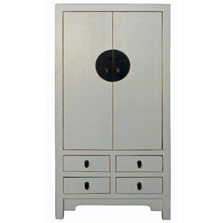 Off White Chinese Armoire cs2025C