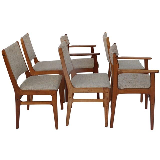 Vintage D-Scan Teak Dining Chairs - Set of 6 - Image 3 of 7