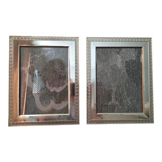 Italian Silver Picture Frames - A Pair