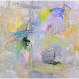 """""""Singapore Showers"""" Abstract Oil Painting by Trixie Pitts"""