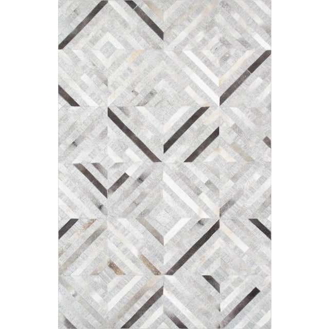 Pasargad Custom Made Cowhide Rug- 4' X 6' - Image 1 of 4