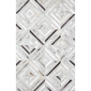 Pasargad Custom Made Cowhide Rug- 4' X 6'
