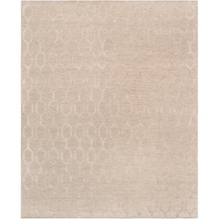 Transitiona Hand-Woven Silk & Wool Rug - 8′9″ × 11′9″