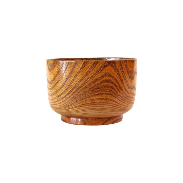 Lacquered Wood Bowl - Image 1 of 5