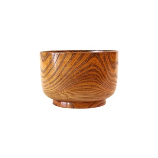 Lacquered Wood Bowl