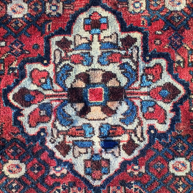 Hoseinabad Persian Rug - 3′ × 5′1″ - Image 8 of 10
