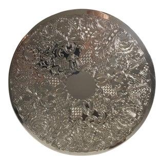 Vintage Filigree Silver Trivet Coaster