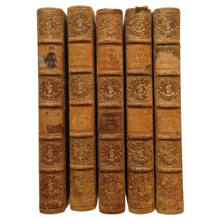 The Poetical Works of John Dryden - 5 Volumes