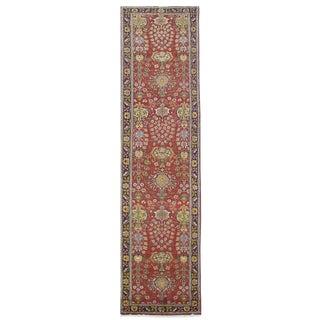 Vintage Persian Tabriz Rug - 3′2″ × 15′10″
