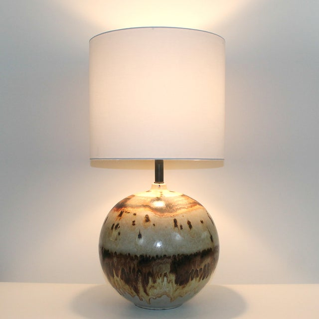 Overscale Mid-Century Raymor Pottery Lamp - Image 9 of 9
