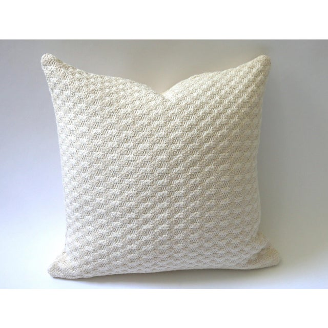 Sweater Knit Thick Cream Decorative Throw Zipper Pillow Cover Chairish