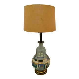 Sacha Brastoff Style Table Lamp