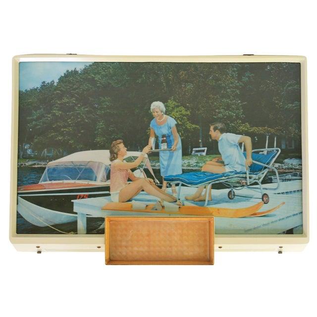 Anheuser-Busch Light Up Boating Sign - Image 1 of 6