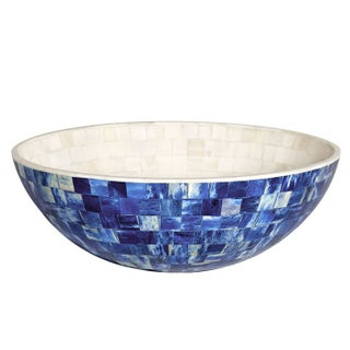 """Congo"" Indigo Small Decorative Bowl"
