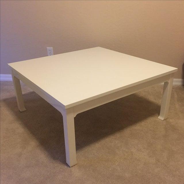 Annika White Gloss Coffee Table: White Gloss Coffee Table