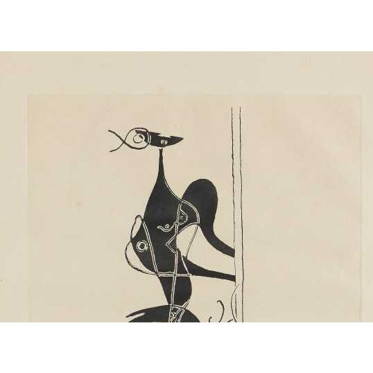 "George Braque ""Ajax"" Etching and Aquatint - Image 4 of 4"