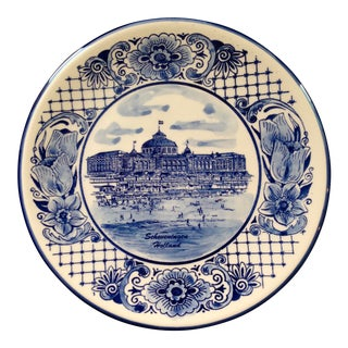 Delft Holland Hand Painted Plate