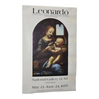 "Vintage ""Leonardo da Vinci to Titian"" Exhibition Poster Circa 1979"