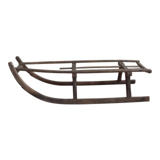 Antique Wooden Child's Sled