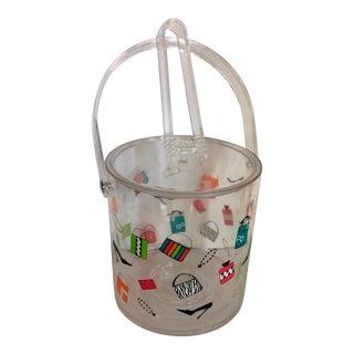 Lolita Acrylic Ice Bucket & Tongs